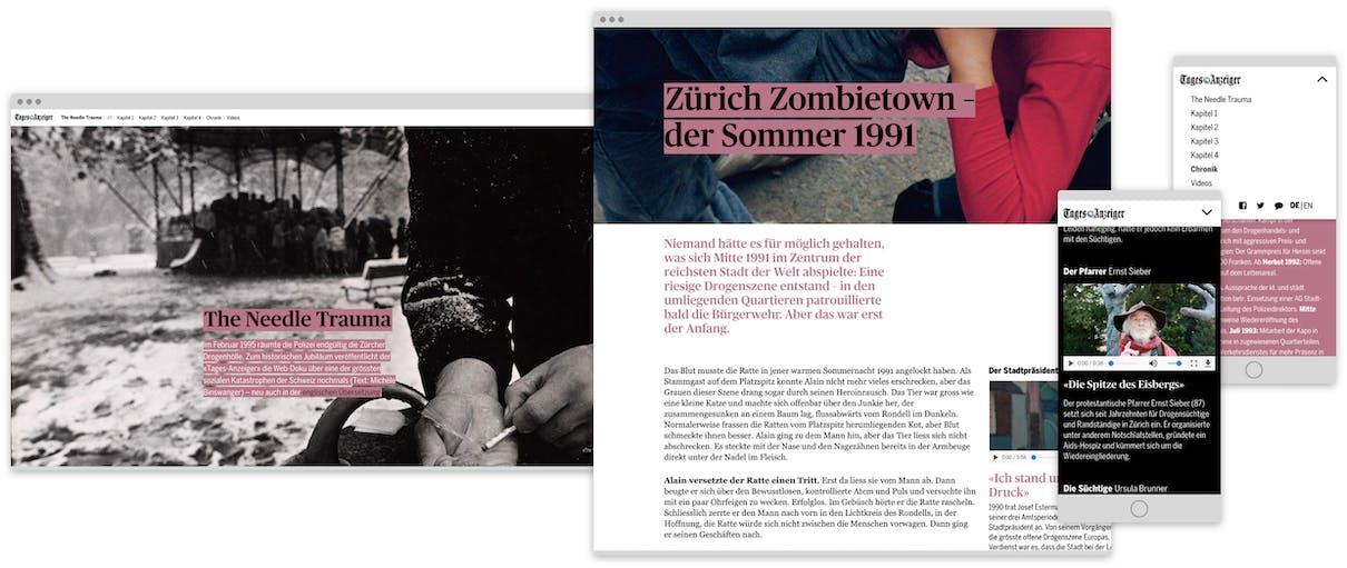 Tages-Anzeiger: Drogenhölle am Platzspitz