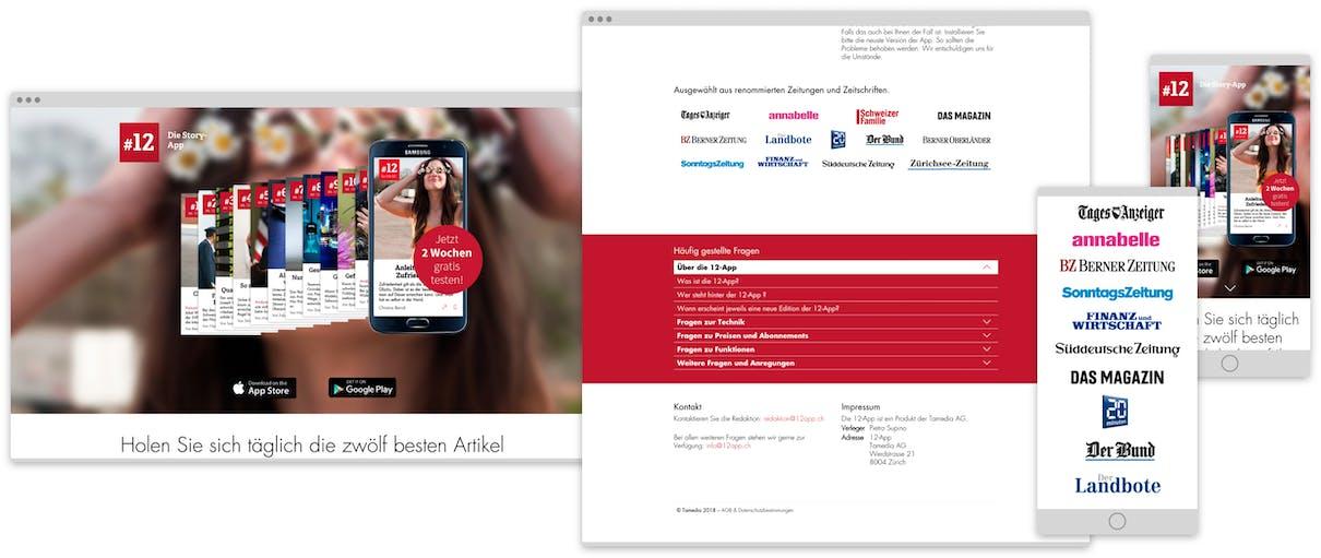 Tamedia 12 App