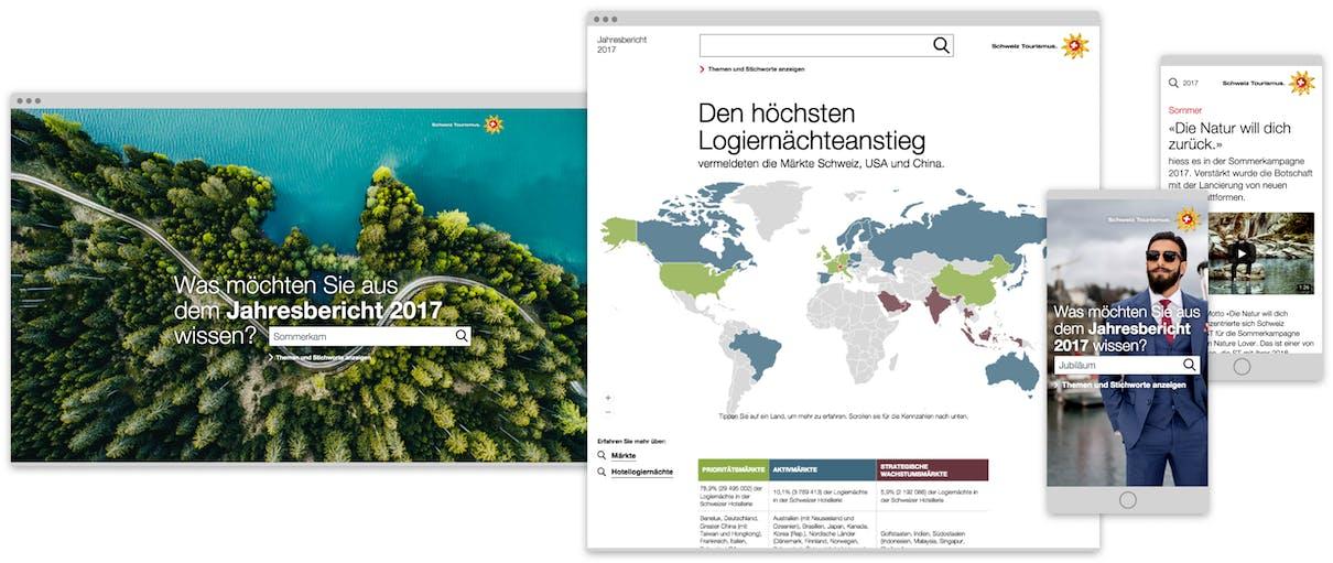 Schweiz Tourismus Geschäftsbericht 2017